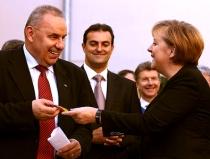 Iote! Era si primarul la intilnirea Marga - Merkel?